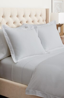 Boll & Branch Embroidered Duvet Cover & Sham Set