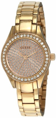 GUESS W0230L3 Women's Analogue Quartz Watch Stainless Steel