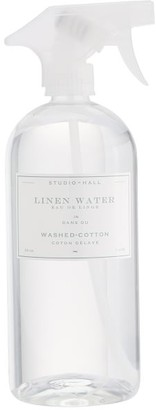 Pottery Barn K. Hall Washed Cotton Linen Water