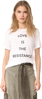 Prabal Gurung Love is the Resistance Tee