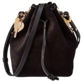 Sophie Hulme Nelson Suede Bucket Bag.