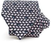 Thomas Pink Elephant Family Print Classic Tie