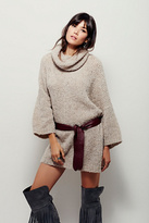 Free People Womens EXTREME COWL PULLOVER