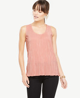 Ann Taylor Pleated Shell