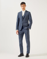 Jigsaw Check Suit Jacket