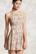 Forever 21 Floral Halter Cami Dress