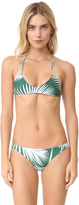 Mikoh Banyans String Racer Back Bikini Top
