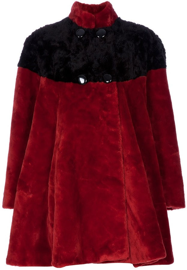 Pierre Cardin Vintage faux-fur coat