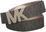 Michael Kors Womens Belt, Signature Logo Wide Belt - (XLarge)