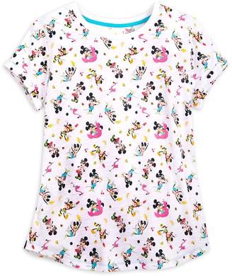 Disney Mouse Scoop Neck T-Shirt for Women