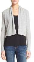 Rebecca Taylor Women's 'Camile' Cashmere Crop Cardigan