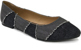Bamboo Black Denim Goodness Flat