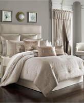 J Queen New York Wilmington Alabaster King Comforter Set