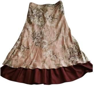 Stella Forest Multicolour Silk Skirts