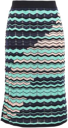 M Missoni Pointelle-knit Skirt