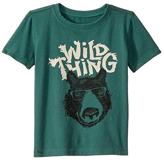 Life is Good Wild Thing Bear Crusher Knit Tee (Toddler)