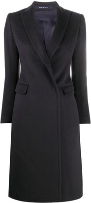 Tagliatore Fitted Double-Breasted Cashmere Coat