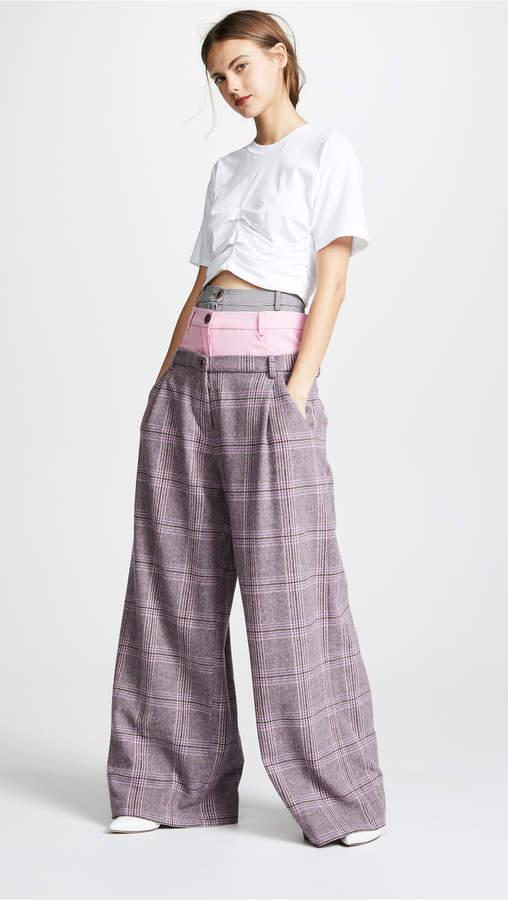 Natasha Zinko 3 Waist Wide Leg Trousers