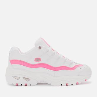 Skechers Women's Energy Over Joy - White/Pink