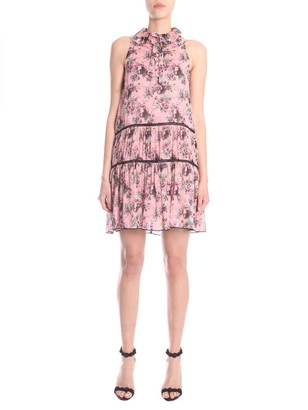 Boutique Moschino Bow Detail Printed Dress