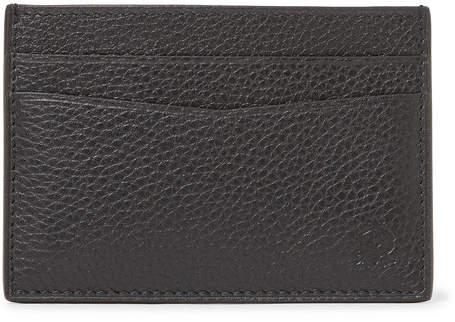 Dunhill Boston Full-Grain Leather Cardholder