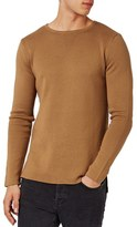 Topman Longline Split Hem Sweater