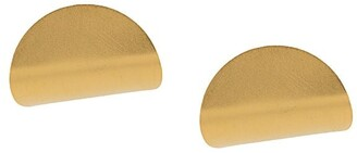Hsu Jewellery Disc-Curve Earrings