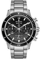 Bulova Men's Marine Star Black Dial Chronograph