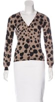 Moschino Cheap & Chic Moschino Cheap and Chic Silk & Cashmere-Blend Cardigan