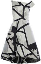 Coast Barton Print Full Midi Dress