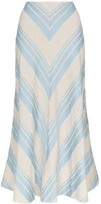 Lee Mathews Tilda A-line skirt
