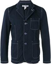 Comme des Garcons contrast stitch blazer