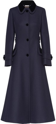 Miu Miu Button-Front Coat