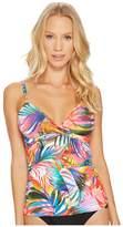 Lauren Ralph Lauren Tropic Palm-Print Tankini Women's Swimwear