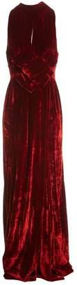 Awake Red Viscose Dresses