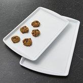 Crate & Barrel CeramaBake ® Baking Sheets Set of Two