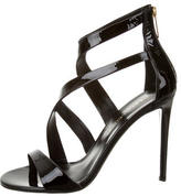 Tamara Mellon Patent Leather Multistrap Sandals w/ Tags