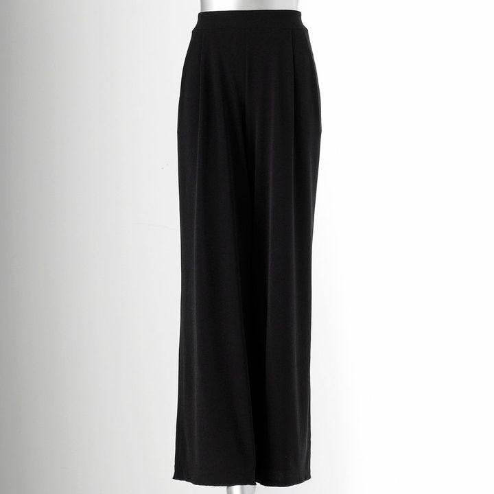 Vera Wang Simply vera simply separates pleated wide-leg palazzo pants