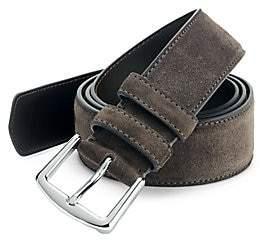 Loro Piana Men's Cintura Suede Belt