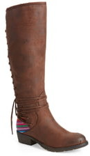 Very Volatile Marcel Corseted Knee High Boot