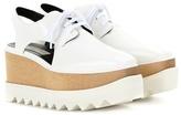 Stella McCartney Elyse Platform Cut-out Derby Shoes
