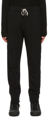 Jil Sander Black French Terry Lounge Pants