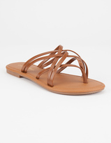 City Classified Criss Cross Womens Sandals