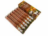 1 X Coconut Mango - Box of Six 20 Stick Tubes, 120 Sticks Total - HEM Incense by HEM 6 Pack 20 Stick
