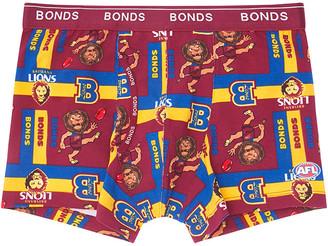 Bonds x AFL Boys Guyfront Trunk