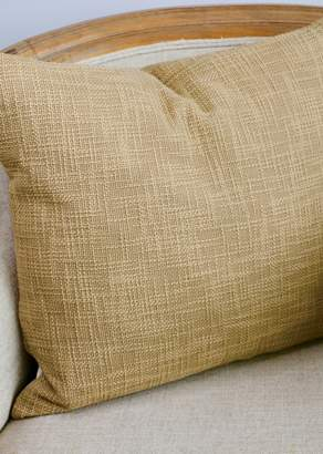 Ya-Ya & Co. Ambar Brown Cotton Slub Pillow