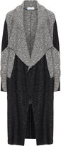 Inca Plus Size Two-tone waterfall cardigan