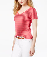 Tommy Hilfiger Cotton Striped Flag T-Shirt, Only at Macy's