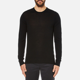 Michael Kors Men's Merino Crew Neck Jumper Black