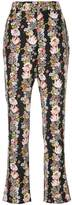 Equipment floral flared trousers
